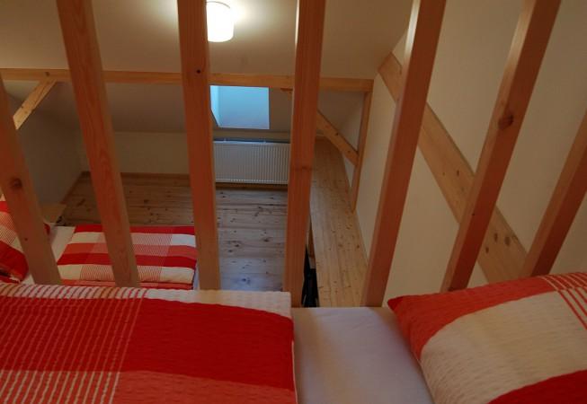 Červený pokoj - penzion Čáslava
