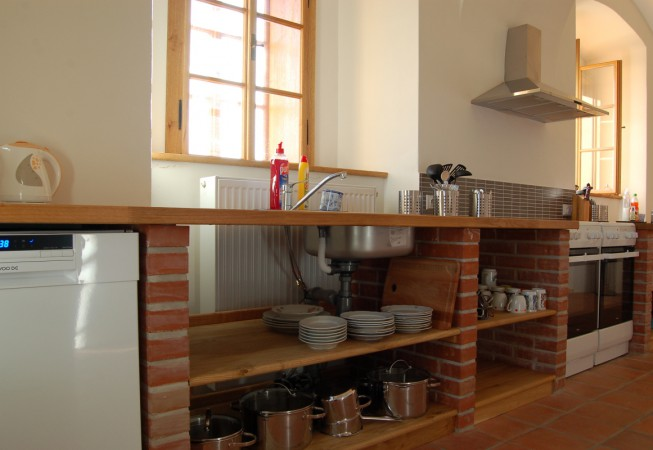 Kuchyně_Penzion Čáslava