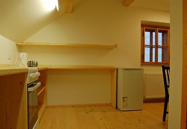 Modrý apartmán - penzion Čáslava