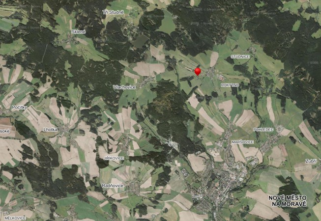 Penzion Čáslava letecky