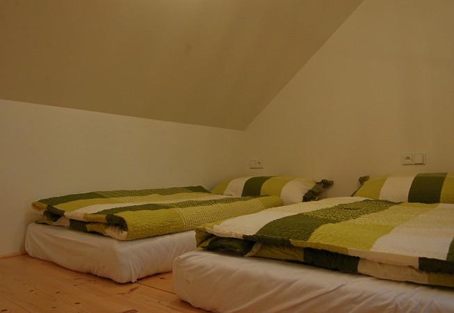 Zelený pokoj - penzion Čáslava